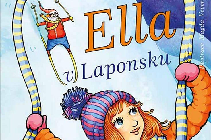 Vyhrajte tři knihy Ella v Laponsku