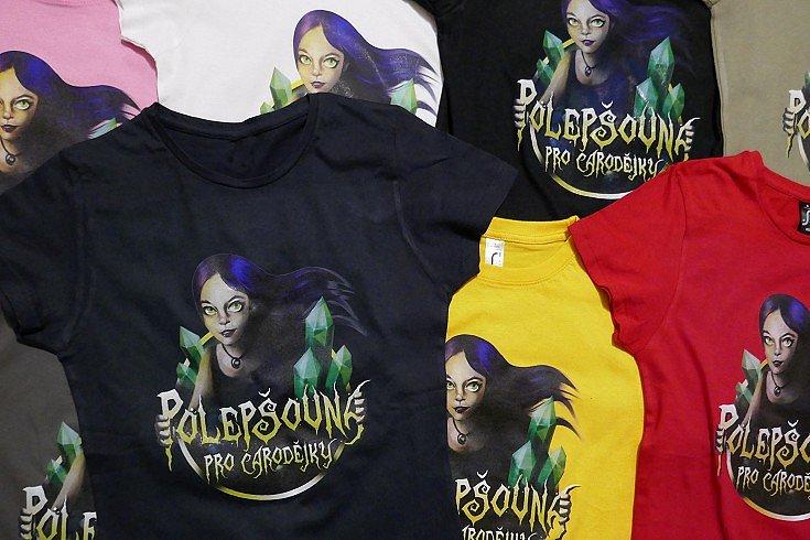 Soutěž o trička Polepšovna pro čarodějky