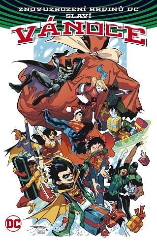 Soutěž o tři komiksy Znovuzrození hrdinů DC slaví Vánoce