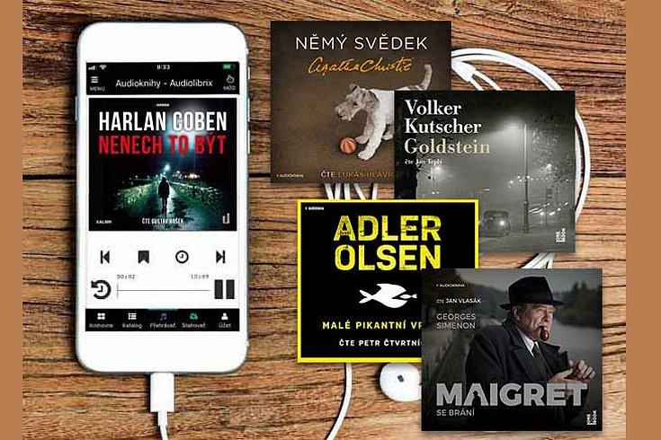 Vyhrajte audioknihu dle výběru