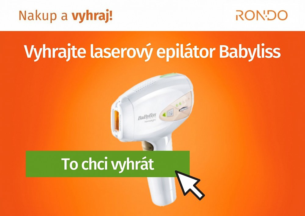 Soutěž o laserový epilátor Babyliss IPL
