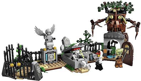 Soutěž o stavebnice Záhada na hřbitově z řady LEGO Hidden Side