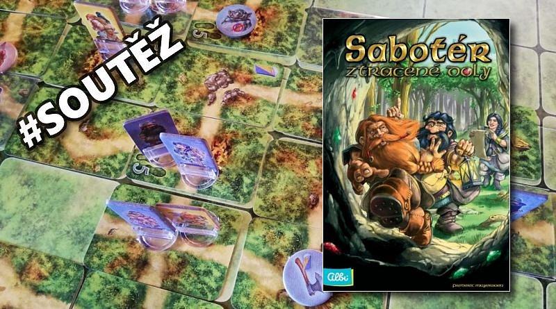 SOUTĚŽ o deskovou hru SABOTÉR – ZTRACENÉ DOLY