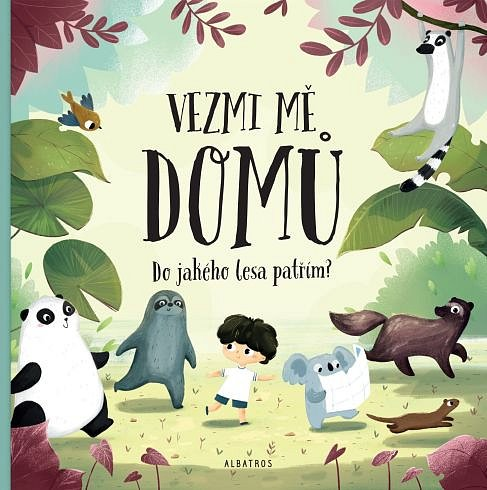 Soutěž o knihu Vezmi mě domů. Do jakého lesa patřím?