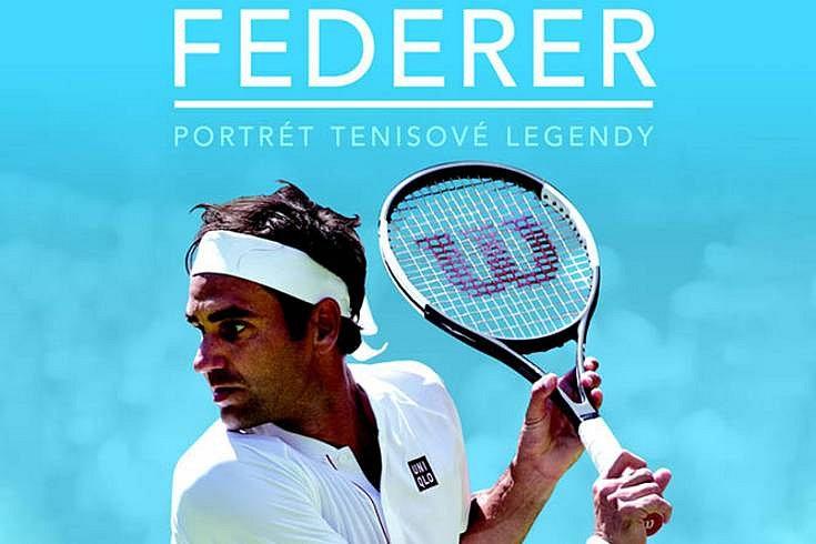 Vyhrajte dvě knihy Federer: Portrét tenisové legendy