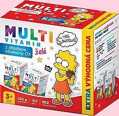 Soutěž o balíčky vitamínů a výživových doplňků The Simpsons pro děti