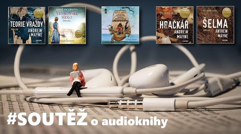 SOUTĚŽ o pět audioknih na CD