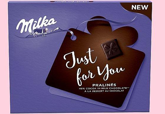 Soutěž o nové hořkosladké pralinky Milka Just For You