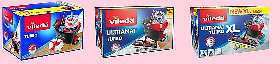 Soutěž o mopy TURBO, Ultramat TURBO a Ultramat XL TURBO
