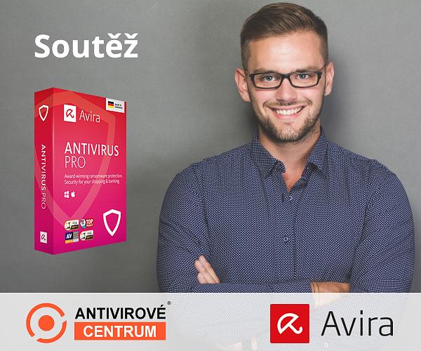 Velká šance získat zdarma oceňovaný antivir Avira Antivirus Pro