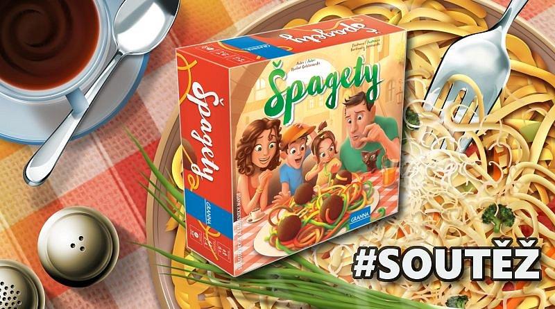 SOUTĚŽ o party hru ŠPAGETY
