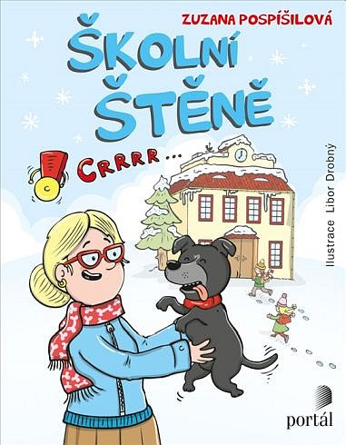 Soutěž o knížku Školní štěně