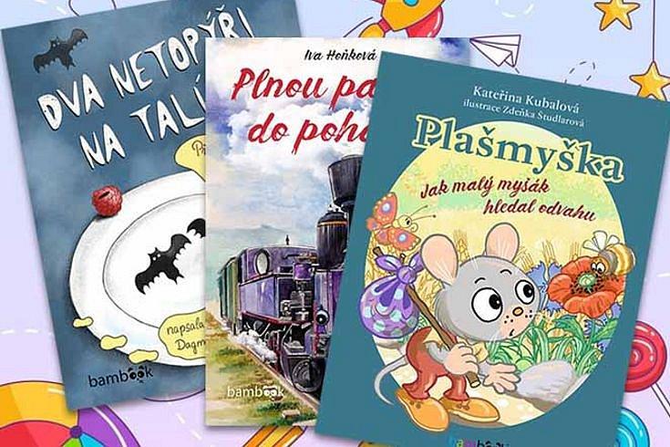 Vyhrajte knížku pro malé čtenáře dle výběru