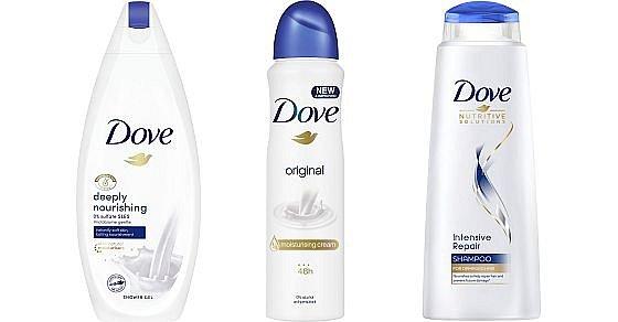 Soutěž o 3 balíčky pečující kosmetiky Dove