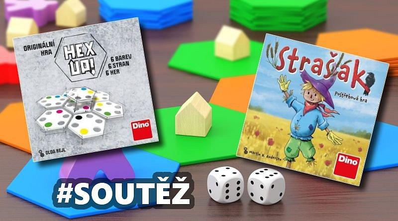 SOUTĚŽ o dvě postřehové hry od Dino Toys