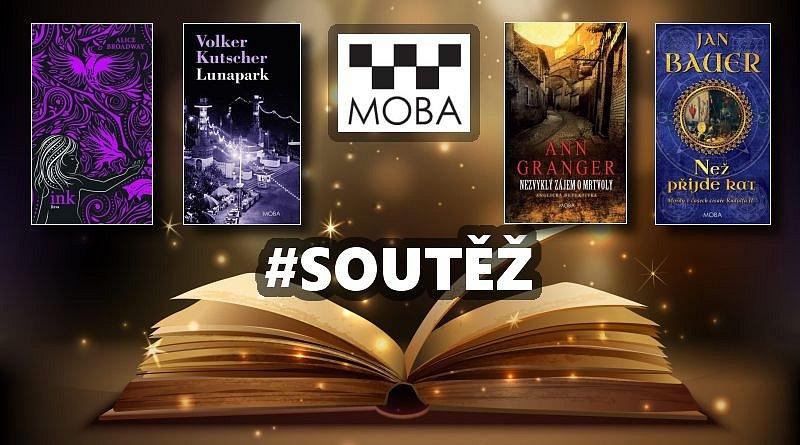 SOUTĚŽ o knižní novinky Nakladatelství MOBA