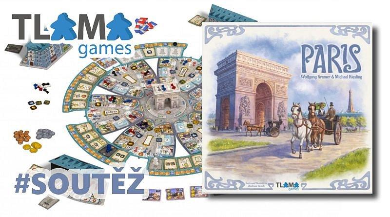 SOUTĚŽ o strategickou hru PARIS