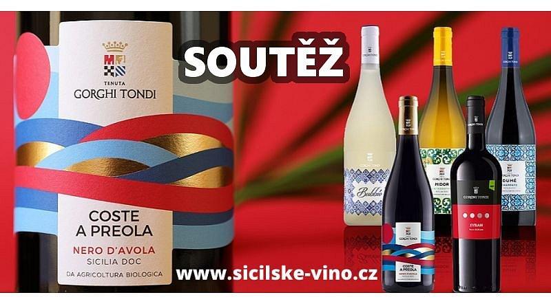 SOUTĚŽ o vína z vinařství GORGHI TONDI