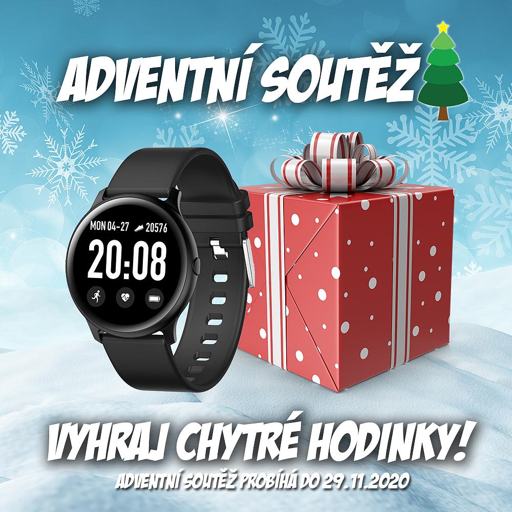 Adventní soutěž o chytré hodinky