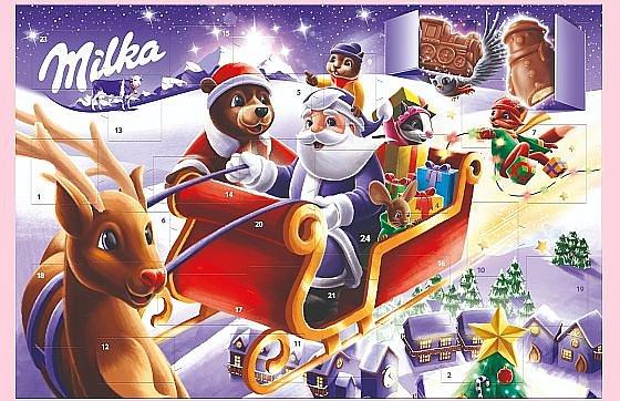 Soutěž o vánoční figurky a adventní kalendáře Milka
