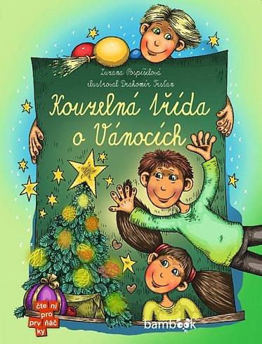 Soutěž o 5 knížek Kouzelná třída o Vánocích