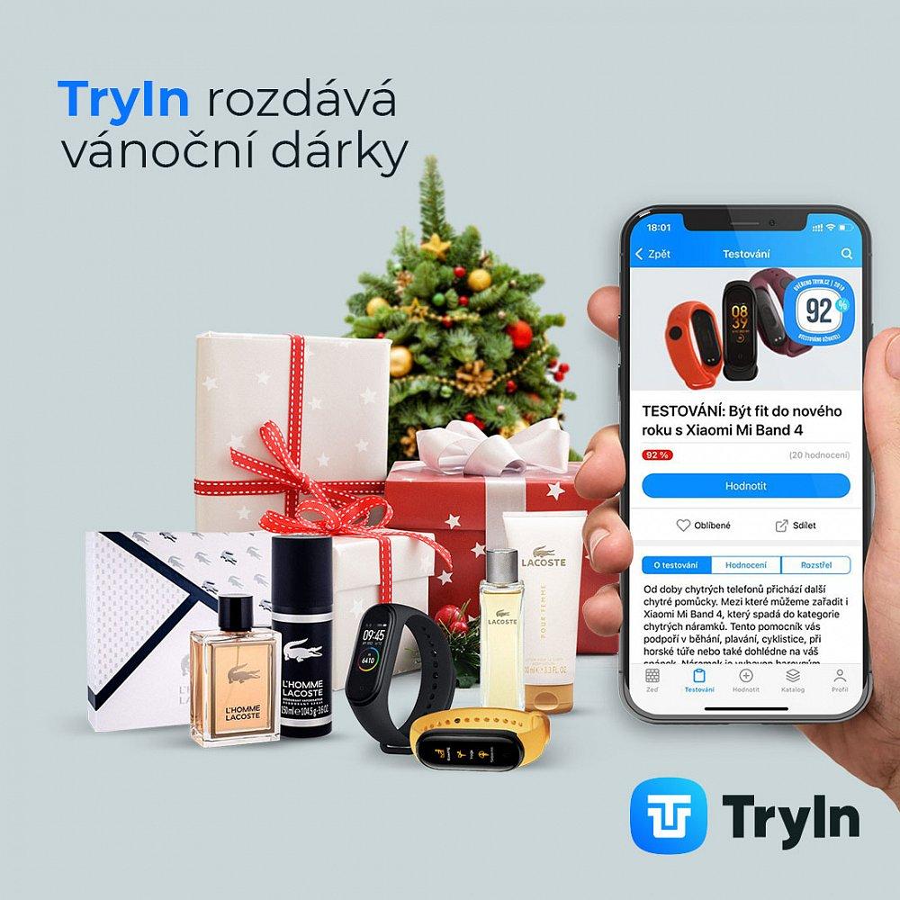 TryIn rozdává vánoční dárky!
