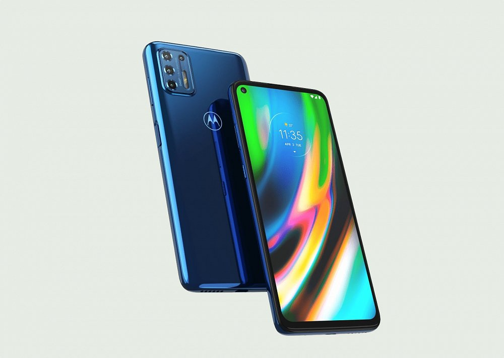 Soutěž o nový smartphone Motorola Moto G9 Plus