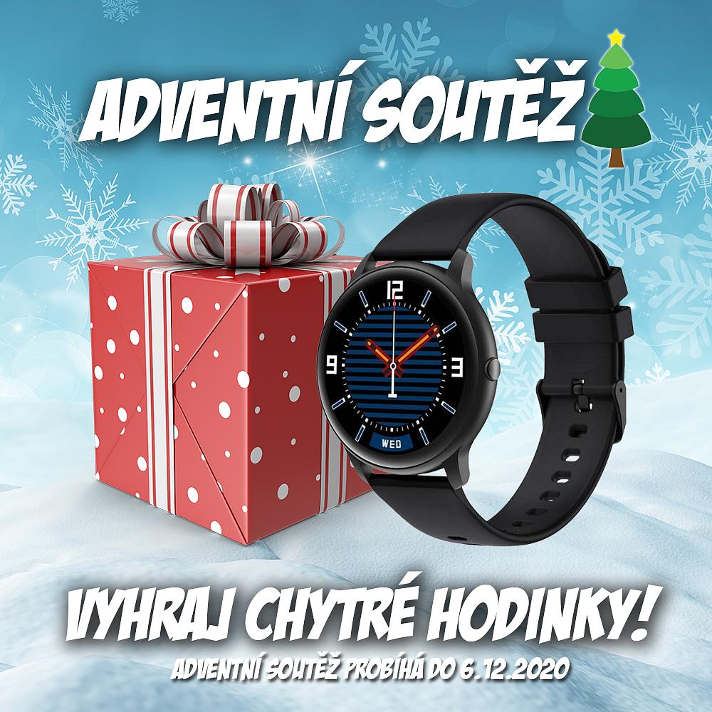 Vánoční soutěž o chytré hodinky KW66