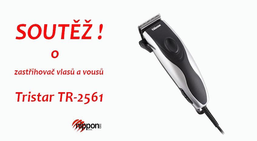 Soutěž o Zastřihovač vlasů a vousů Tristar TR-2561