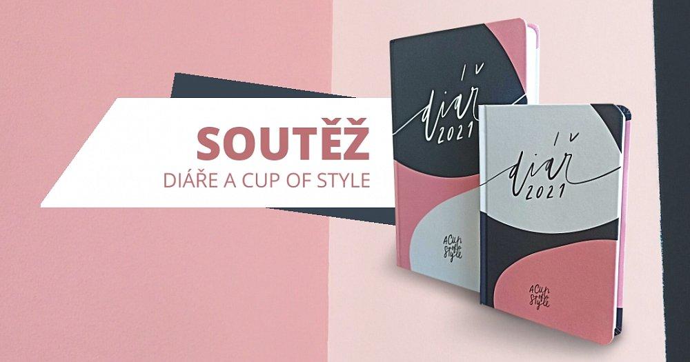 Soutěž o A Cup of Style diáře 2021