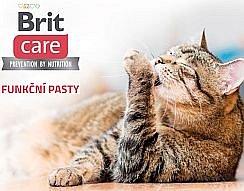 Soutěžte o Brit Care Cat funkční pasty a kapsičky pro kočky
