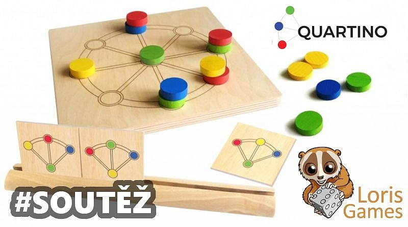 SOUTĚŽ o logickou hru QUARTINO