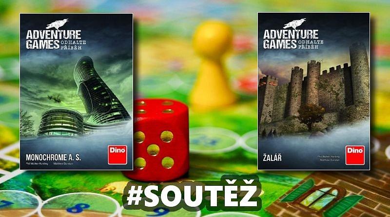 SOUTĚŽ o dvě párty hry ADVENTURE GAMES