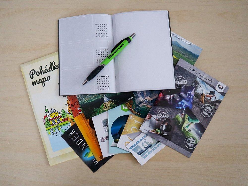 Vyhrajte balíček dárků od Wander Book