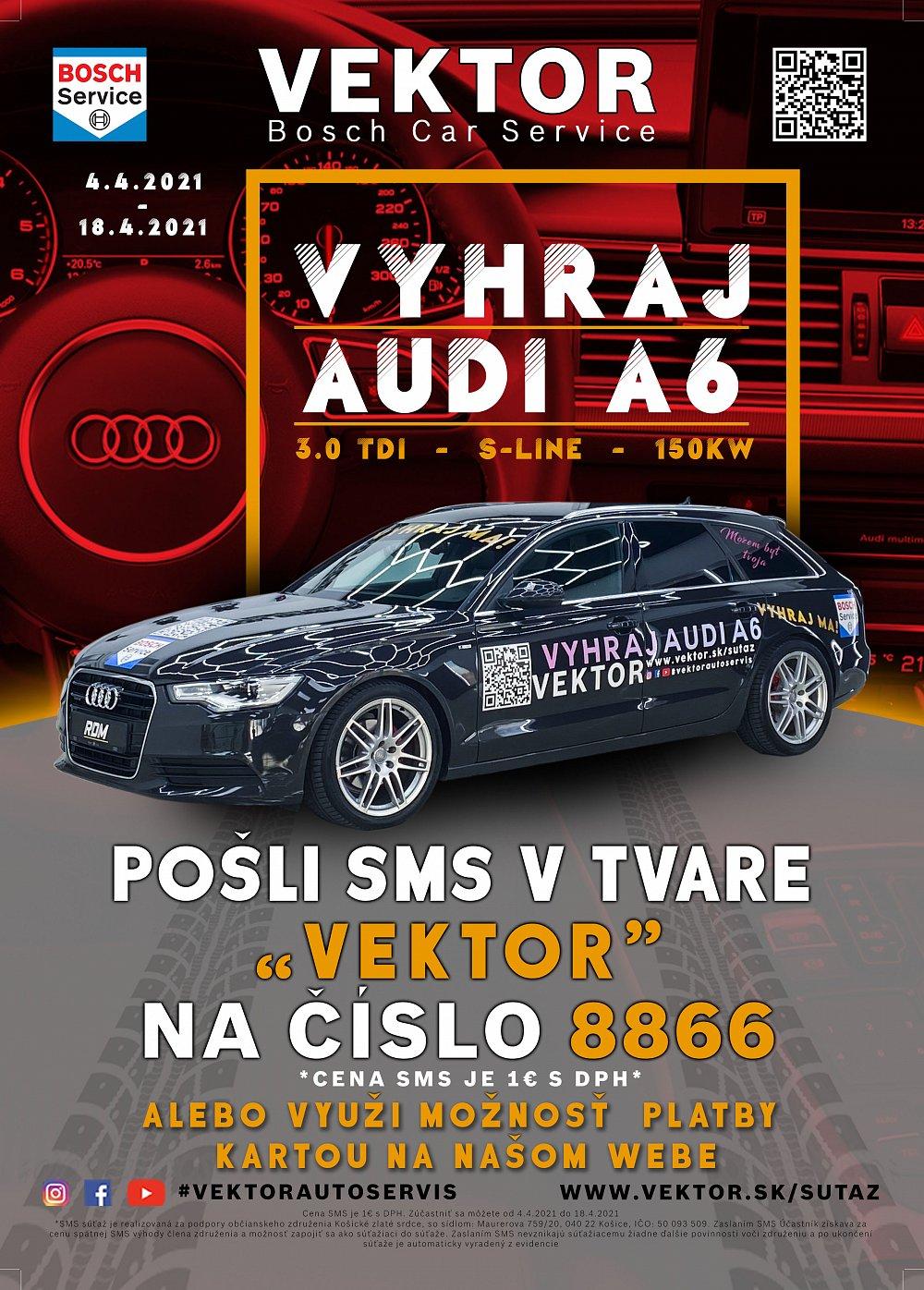 Vyhraj AUDI A6