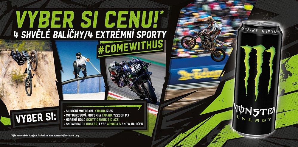Vyhrajte ceny podle svého oblíbeného sportu! Motocykly Yamaha YZF-R125, Yamaha YZ250F a další ceny