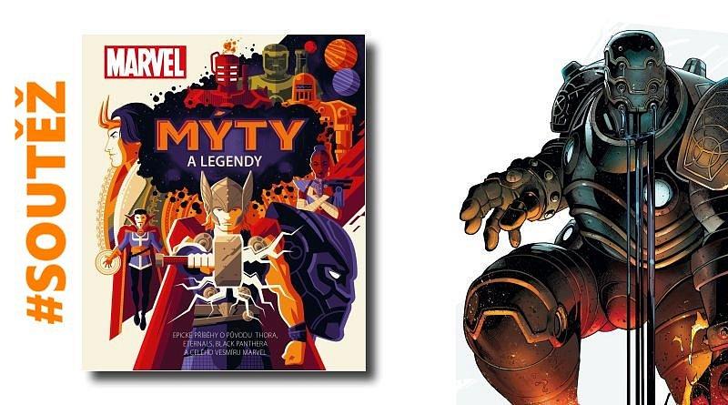 SOUTĚŽ o knihu Marvel: Mýty a legendy