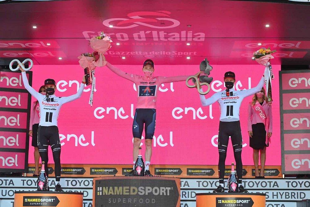 Tipujte vítěze etap Giro 2021 a vyhrajte!