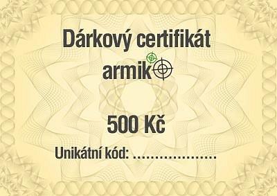 Vyhrajte 500 Kč na nákup do Armik.cz - 5/2021