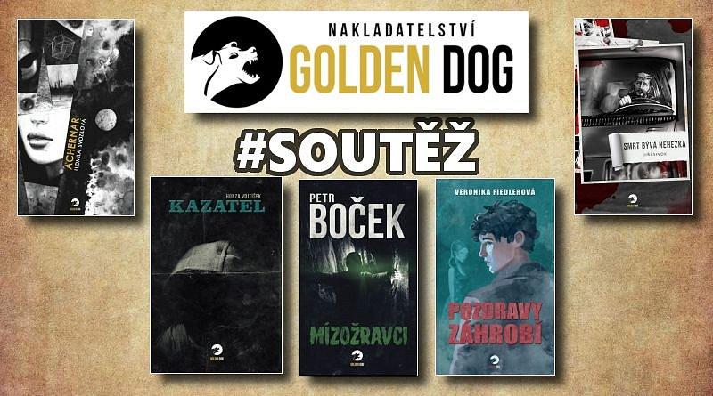 SOUTĚŽ o pět hororových knih z nakladatelství Golden Dog