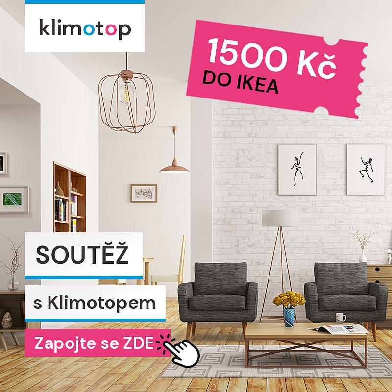 Soutěž o poukázku do Ikea v hodnotě 1500 Kč