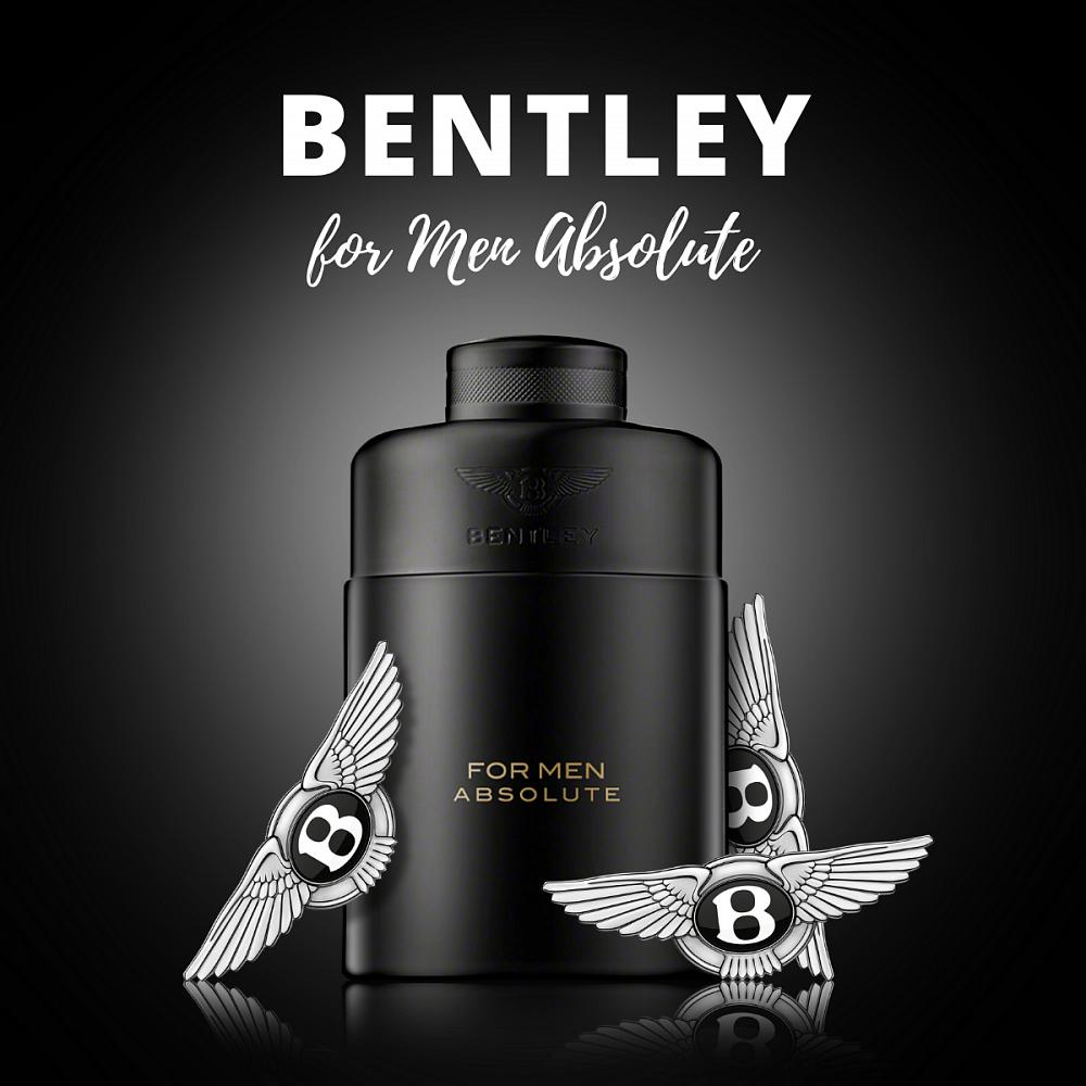 Soutěž o parfém Bentley for Men Absolute