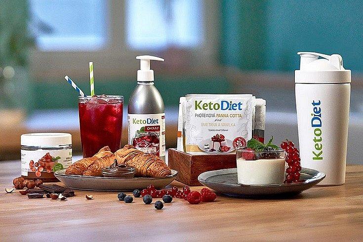 Pohodlné hubnutí schutí a bez hladovění. Shoďte nadbytečná kila spardubickou značkou KetoDiet.