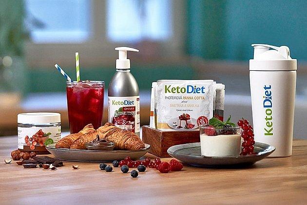 Soutěž o dietní balíčky oblíbených proteinových jídel a nápojů KetoDiet