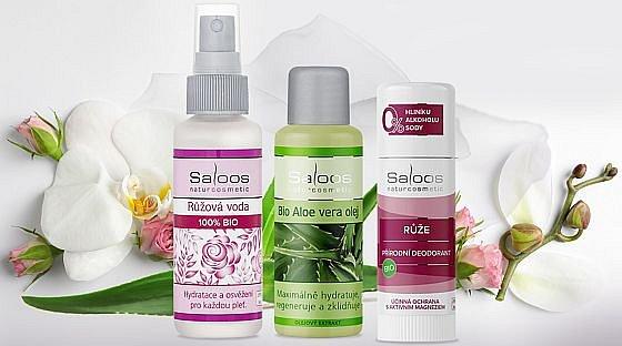 Soutěž o 5 balíčků české aromaterapeutické biokosmetiky Saloos