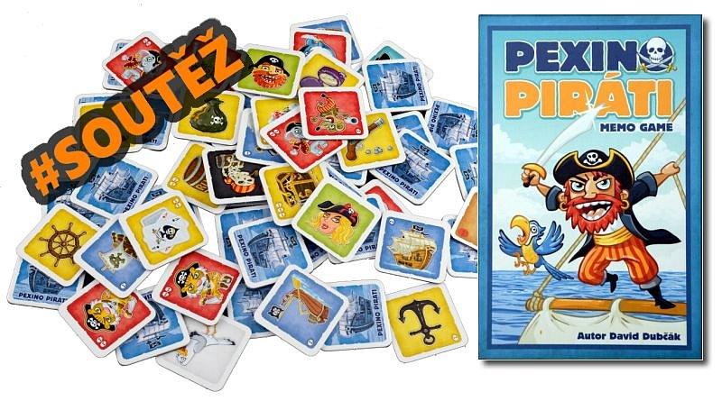 SOUTĚŽ o paměťovou hru PEXINO PIRÁTI