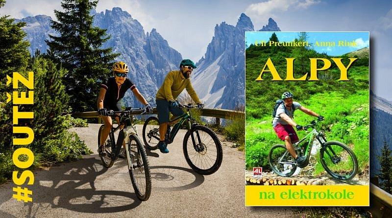 SOUTĚŽ o tři knihy Alpy na elektrokole