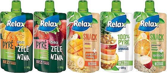 Soutěž o balíčky kapsiček a džusů RELAX 100%