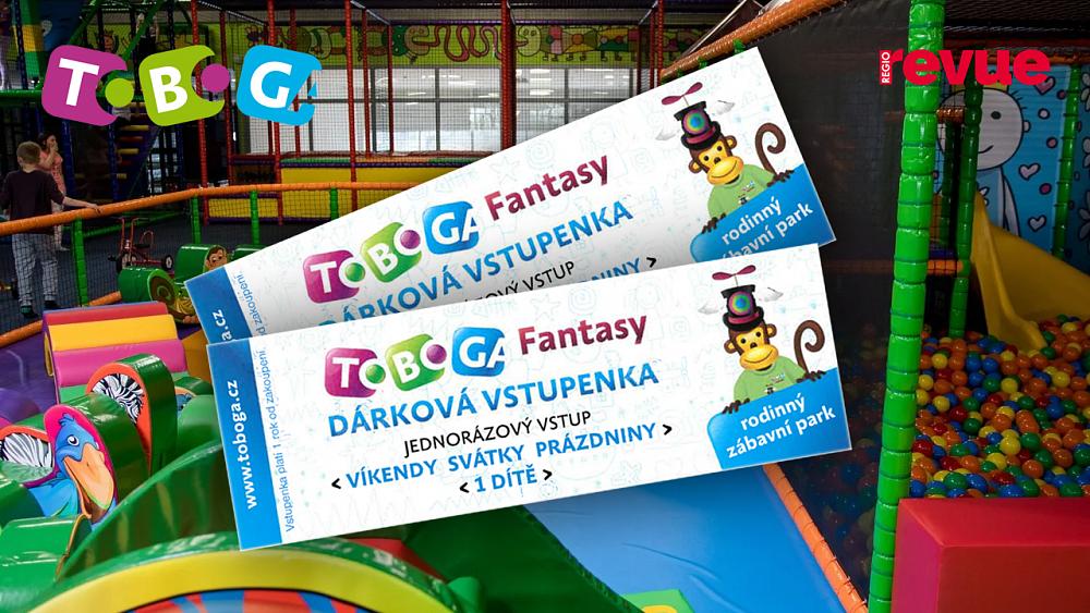 Vyhrajte 2x celodenní vstup do zábavního parku Toboga Fantasy