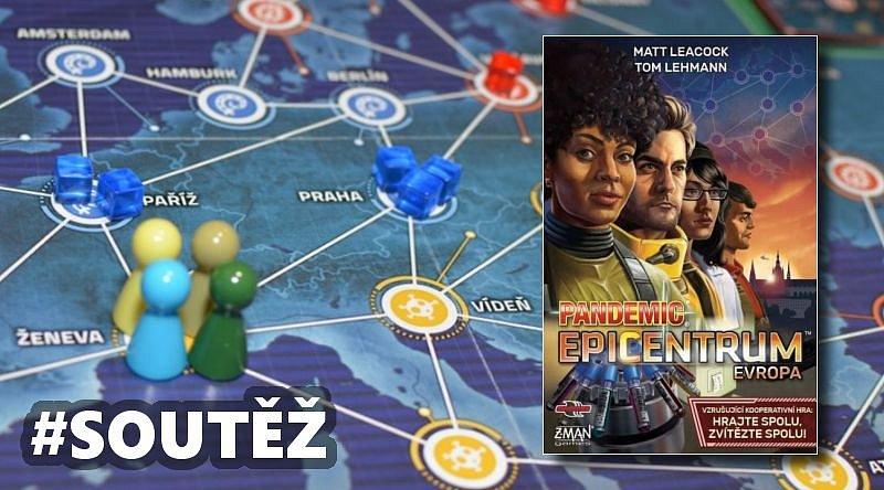 SOUTĚŽ o kooperativní hru PANDEMIC: Epicentrum Evropa